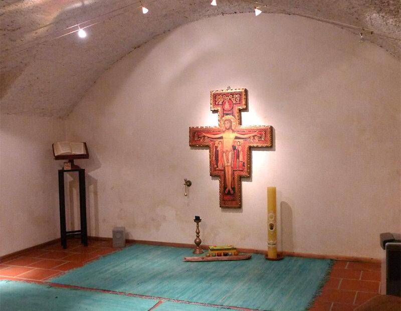 Kapelle unter dem Cafebereich